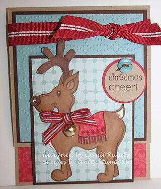 Reindeer-kickstand