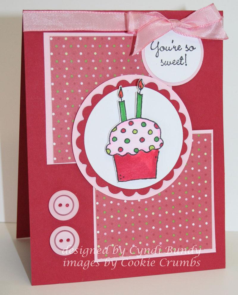 Polka-dot-cupcake