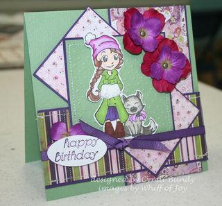Purple-charlotte