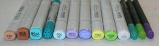 Scuba-markers