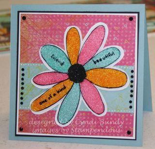 Glitter-multi-flower